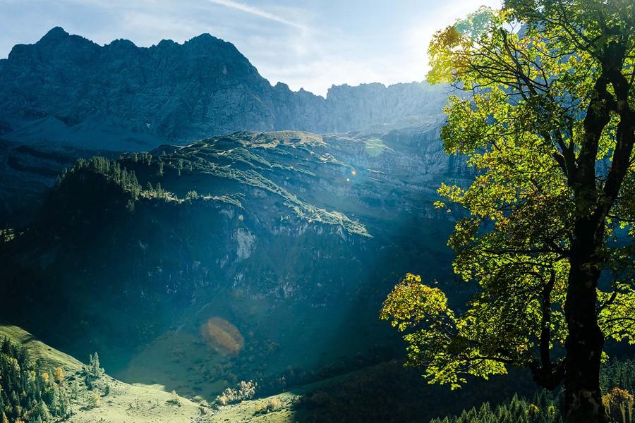 Unterwegs im deutsch-oesterreichischen Yosemite – Teil 2