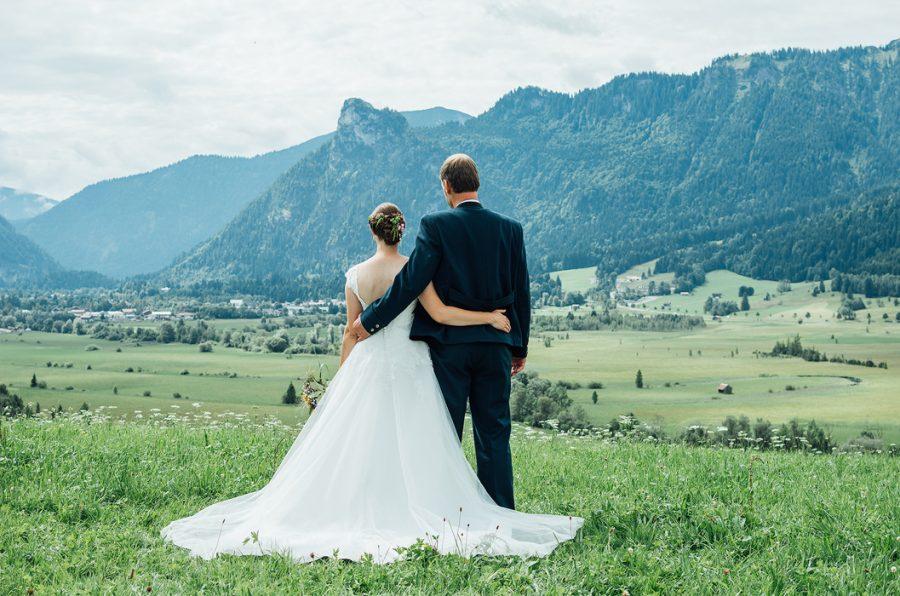 Hochzeit in Unterammergau – Margarete und Andreas