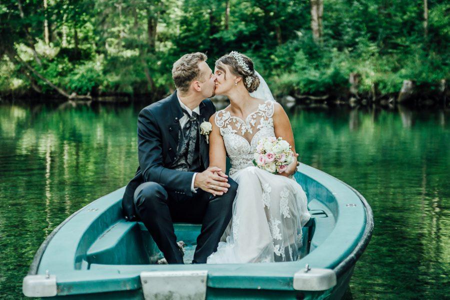 Hochzeit im Hotel am Badersee in Grainau – Anna und Benni