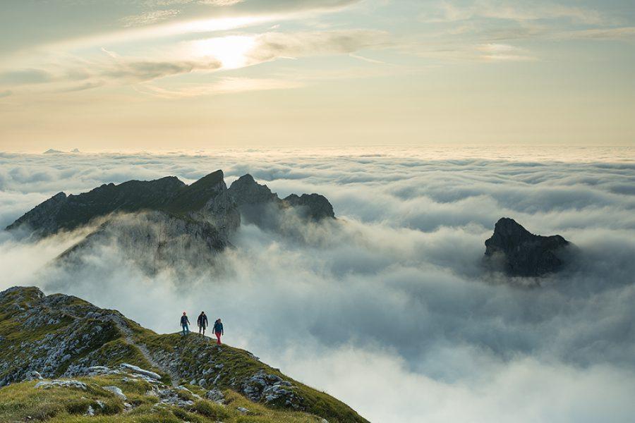 """Titelshooting für das Bergmagazin """"Alpin"""""""