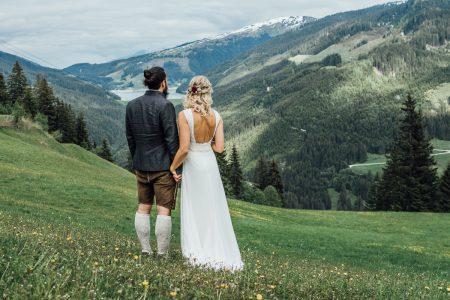 Almhochzeit im Zillertal – Manon und Kevin