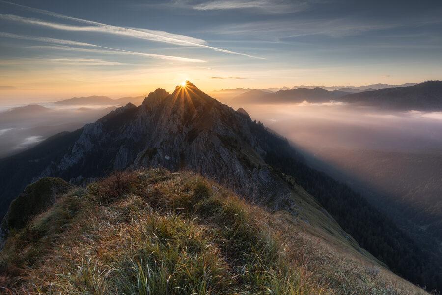 Ein Morgen am Berg